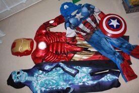 Superhero's Dressing Up Costumes