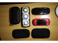 PSP 1004 and PSP 3004 with Games and Accessories