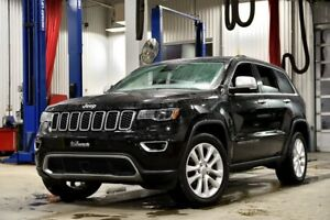 2017 Jeep Grand Cherokee LIMITED 4X4 * LUXE * TECH * DVD * TOIT