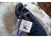 Reebok Royal Complete 2LS Mens Trainers Size 9 Navy Blue Running Shoes Jogging Gym