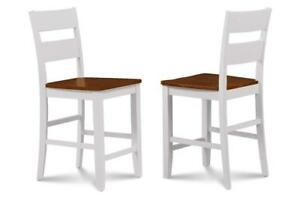 Bar Stool for counter height dining set - Set of 2 dining chairs - HOT SALE