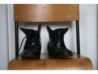 Hudson London boots black leather original