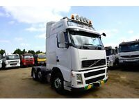 2008 VOLVO FH 500 I-SHIFT 6X2 TRACTOR UNIT GLOBETROTTER FOR SALE IN LONDON UK AFRICA TANZANIA DAF