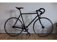 Fuji Track Classic - Fixie / Fixed Wheel / Single Speed Bike - 56cm - Black/Purple