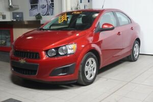 2012 CHEVROLET SONIC AUTOMATIC+A/C+TAUX @ 0.9%