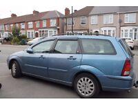 year 2002 ford focus estate Ghia tddi 1.8 diesel