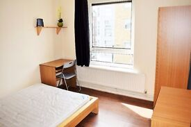 Amazing Double Bedrooms To Rent In Whitechapel E1 With All Bills Included and Free Internet
