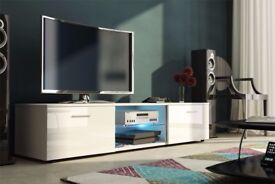 MODERN HIGH GLOSS TV UNIT, TV CABINET , TV STAND , HIGH QUALITY, BRAND NEW, FLATPACK