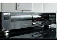 Sony CDP 291 - Modified CD player - NOS mode + valve (tube) output stage - sounds unreal