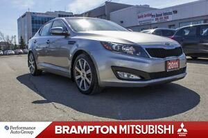 2011 Kia Optima EX+|REAR CAM|SUNROOF|LEATHER|HEATED SEATS|BLUETO