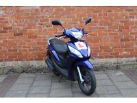 Honda Vision 110cc **MOT Low Mileage** NOT Yamaha City Cygnus Innova 125 ps Delivery Bike