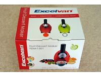 Excelvan Fruit Dessert Maker, brand new unwanted gift.