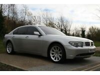 2003 BMW 7 Series 4.4 745Li 4dr LIMO, AUTO, LWB, HIGH SPEC, LOW MILES, FSH, 3M WARRANTY, PX WELCOME