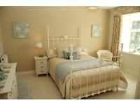 Double Wrought Iron Bed Frame