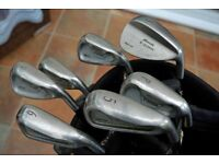 Mizuno MX-15TM centre weighted golf irons with steel shafts