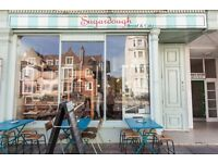 Talented chef Sugardough Cafe in The Lanes Brighton & Bakery in Hove FT days