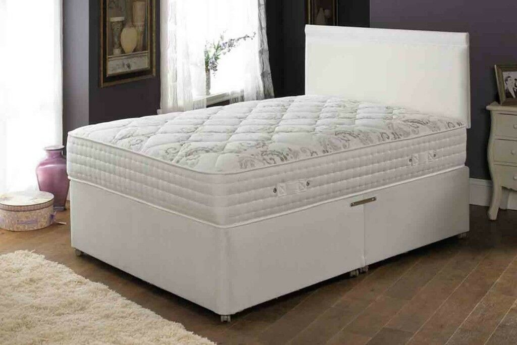 Brand New Double 4ft 6&q Divan Bed with