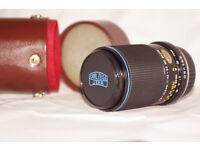 Carl Zeiss jena ddr Practica PB mount 70-210mm zoom lens