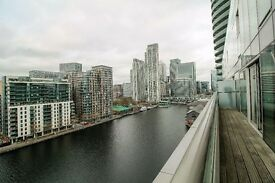 ** MODERN 1 BED FLAT WITH BALCONY IN LANDMARK NEXT TO CANARY WHARF, E14, VACANT!! CALL NOW!! - AW