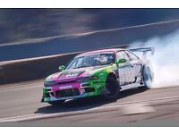 Looking for work with a drift racing or motorsport team (paid/unpaid/freelance/contract)