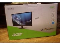 ACER S241HL 24 inch LED Full HD 1080p monitor HDMI DVI VGA
