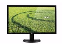 Acer 24 inch LED monitor K242HL- mint condition