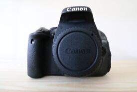 Canon 600D Body Only DSLR Camera - Ideal for Beginner DSLR photography.