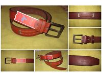 Leather belt for men - AZ