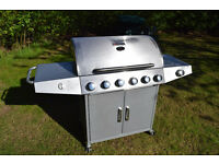 Broil Master Gas Grill 6+1 With Timer