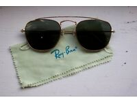 Ray Ban sunglasses. The ULTIMATE frame. Prestine condition!