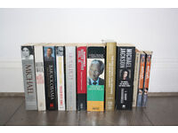 Book collection (biographical, educational, fiction)
