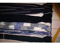 Assortment of mens scarves for sale