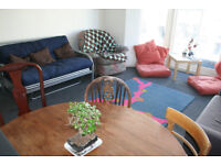 2 double bedrooms in friendly 5-bed flatshare, central Brighton, available July 2018
