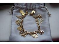 Bracelet Gold charm