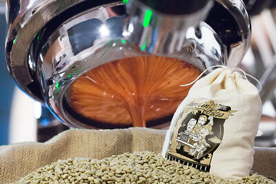 3lbs Grade 1 Double Picked Premium Specialty Espresso Blend Green Coffee Beans