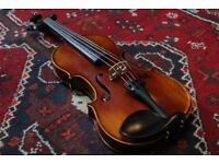 Chinese Workshop Violin, Set Up by Luthier in the UK