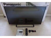 "Panasonic Viera 42"" Smart TV. Hardly used. 1080p HD LED Internet. TX-42AS520B"