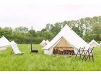 Luxury 4 meter bell tents (Soul Pad) - Ex glamping stock - Great condition