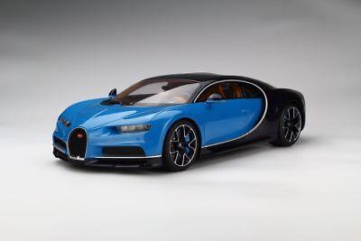Kyosho 2016 Bugatti Chiron Blue Metallic Black Le 350Pcs 1 12 New Item