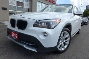 2012 BMW X1 xDrive28i, Panoramic, Factory Wrranty