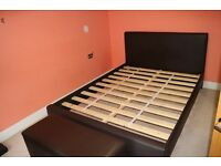 King size bed FOR SALE ! + Storage box / Very Good Condition