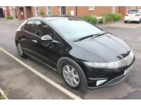 Honda Civic 2.2 Ctdi SPORT 56 reg Great condition MOT 07/2018, tinted windows, Cheap tax