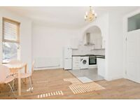 TWO DOUBLE BEDROOM FLAT -NEWLY REFURBISHED -WOODEN FLOORS-OPEN PLAN KITCHEN/RECEPTION -CLOSE TO TUBE