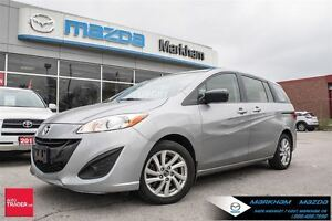 2014 Mazda MAZDA5 GS MAZDA CERTIFIED PREOWNED 6 SEATERS FINANCE