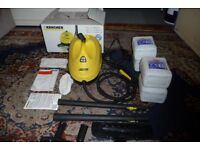 Karcher SC 1020 Steam Cleaner + 10 lts De-ionised Water