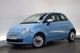 FIAT 500 0.9 TWINAIR COLOUR THERAPY 3d 85 BHP (blue) 2014