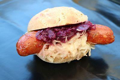 Zum Anbeißen: Winzer-Hot-Dog mit selbstgemachter Wurst