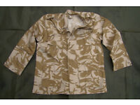 NEW - Rare - Desert Pattern BDU Lightweight Jacket (US Style, british camo made for Kuwait Military)
