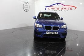 BMW X1 XDRIVE20D M SPORT (blue) 2012