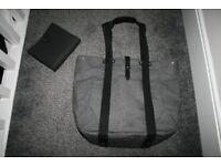 Mamas and Papas Chrissi Convertible Changing Bag Backpack - Grey Denim *can post*